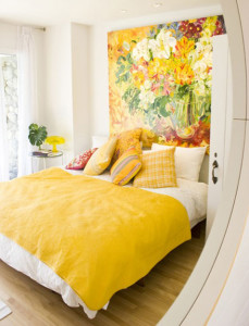 yellow-headboard-for-cheerful-bedroom